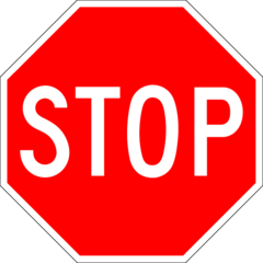 240px Stop sign Bed Wetting and Financial Freedom