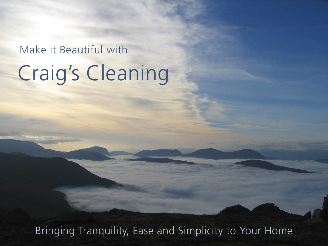 feasibility study for a cleaning service